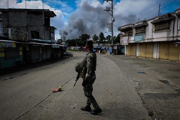 菲律宾军队要求延长在棉兰老岛的戒严令 hinh anh 1