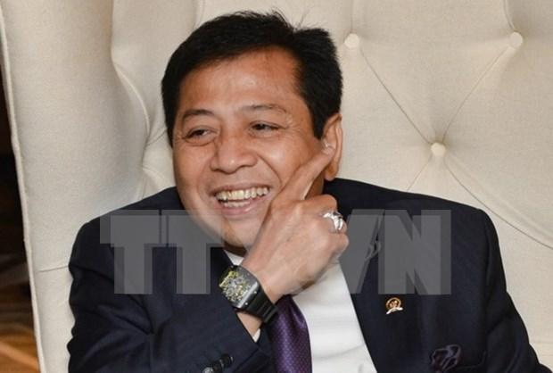 印尼国会议长诺凡多递交辞职书 hinh anh 1