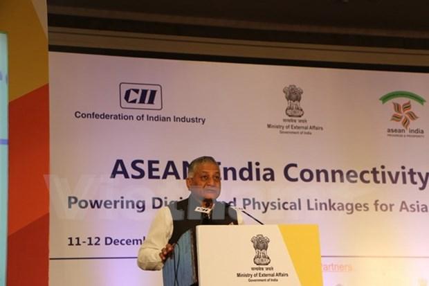 越南代表团出席在新德里举行的东盟印度互联互通峰会 hinh anh 2