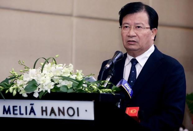 越南政府副总理郑廷勇:政府为越俄企业合作提供便利 hinh anh 1