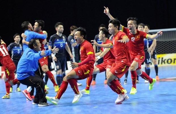 五人制亚洲杯抽签:越南、巴林、马来西亚、中华台北队同组 hinh anh 1
