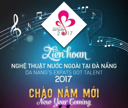 2017年岘港外国达人秀举行在即 hinh anh 1