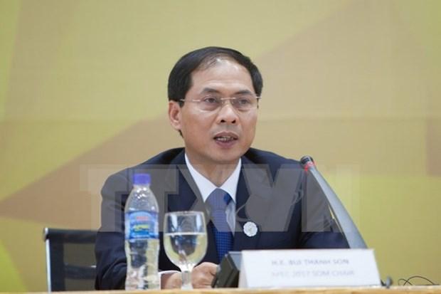 越南外交部常务副部长裴青山:各部委行业应充分发挥APEC会议后期效应 hinh anh 1