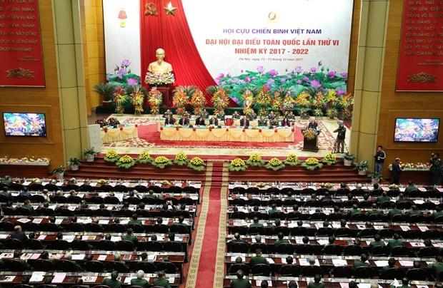 越南老兵协会第六次全国代表大会隆重开幕 hinh anh 1