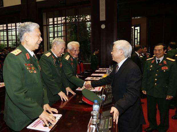 越南老兵协会第六次全国代表大会隆重开幕 hinh anh 3