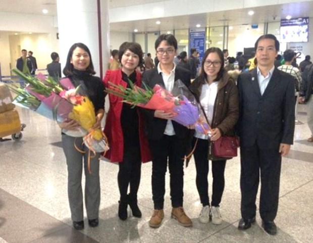 越南学生在2017年第十五届国际中学生俄语奥赛中荣获银牌 hinh anh 2