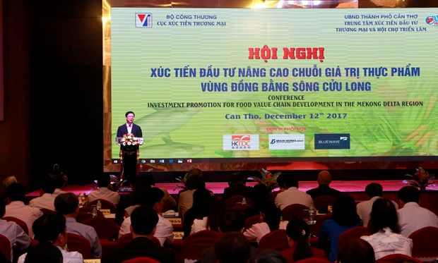 加强投资促进工作 提升九龙江三角洲食品价值链 hinh anh 1