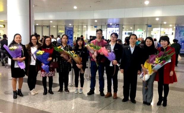 越南学生在2017年第十五届国际中学生俄语奥赛中荣获银牌 hinh anh 1