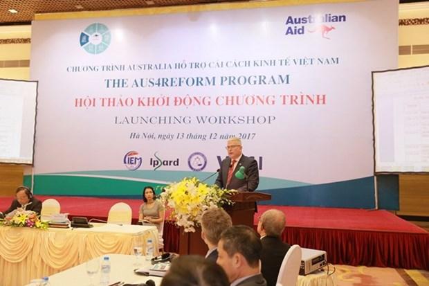 澳大利亚继续协助越南提高经济效益和竞争力 hinh anh 1