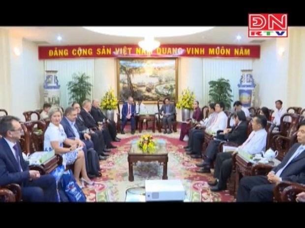 加强越南宁顺省与俄罗斯库尔斯克州的合作 hinh anh 1
