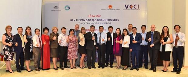 澳大利亚协助越南提高物流企业的积极主动性 hinh anh 1
