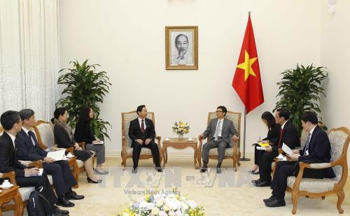 韩国政府将继续鼓励韩国企业投入越南 hinh anh 1