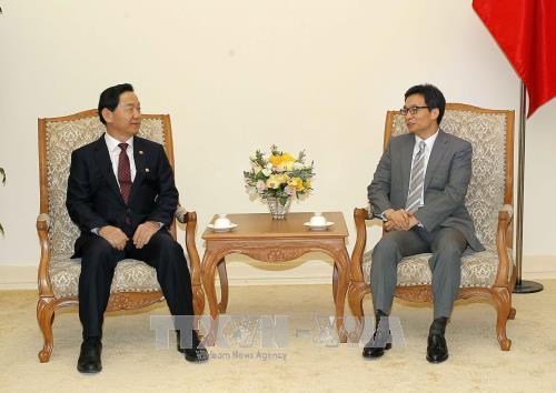 韩国政府将继续鼓励韩国企业投入越南 hinh anh 2
