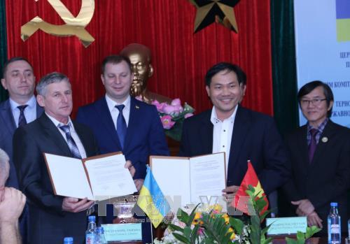 同奈省与乌克兰捷尔诺波尔省加强合作推动工业发展 hinh anh 1