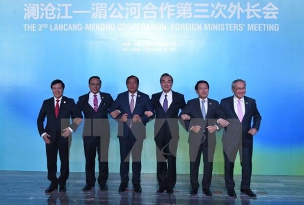越南出席在云南举行的湄公河-澜沧江合作第三次外长会 hinh anh 1