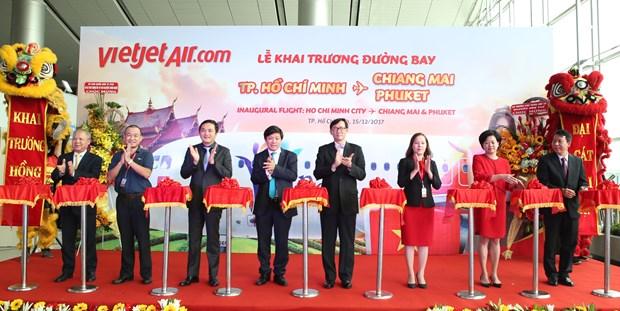 越捷航空公司开通胡志明市至泰国普吉岛和清迈两条新航线 hinh anh 1