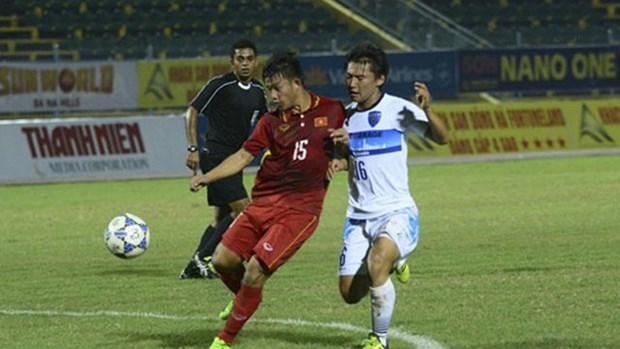 2017年青年报-国际U21足球锦标赛:越南U19队不敌卫冕冠军 hinh anh 1