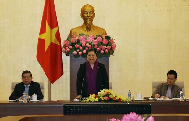 亚太议会论坛第26届年会组委会举行第三次会议 hinh anh 1