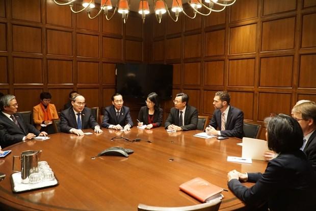 胡志明市与世行促进多个领域的合作关系 hinh anh 1
