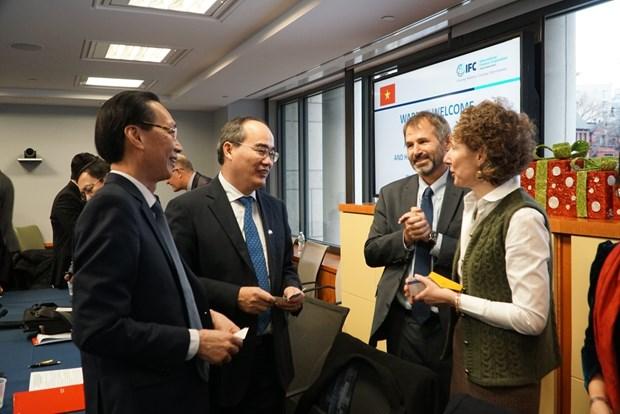 胡志明市与世行促进多个领域的合作关系 hinh anh 2