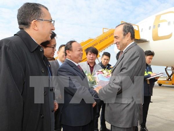摩洛哥众议院议长开始对越南进行正式访问 hinh anh 1