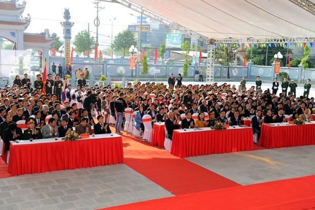 充分有效利用各种资源 将海阳省志玲市建设成为都市建设的典范 hinh anh 2