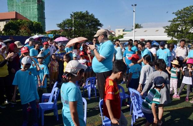 东盟家庭日活动在柬埔寨热闹举行 hinh anh 2