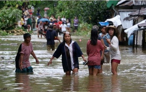 """台风""""启德""""登陆菲律宾 造成至少26人死亡 hinh anh 1"""