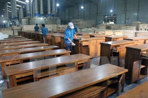 EVFTA生效后越南木材出口市场将继续扩大 hinh anh 1