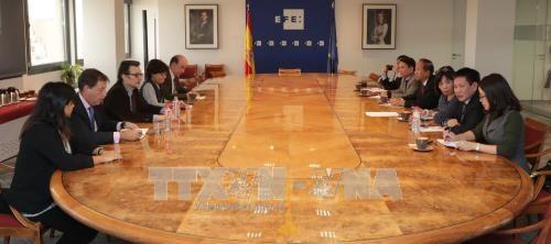 越通社与欧洲各伙伴加强合作关系 hinh anh 1