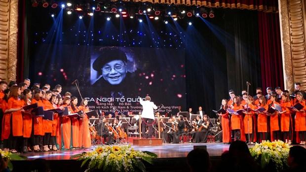 音乐家们为捍卫和发展国家大业做出巨大贡献 hinh anh 1