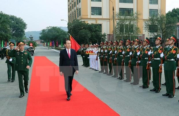 陈大光:第一军区增强战斗力 维护国家独立主权和领土完整 hinh anh 1