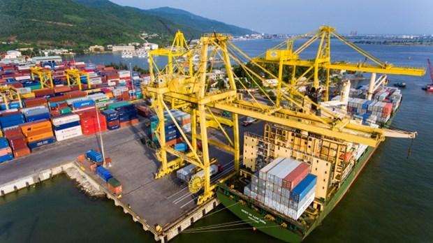 岘港港口货物吞吐量达770万吨 hinh anh 1