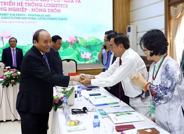 阮春福总理: 力争在2020年前将蔬果出口额提升至50亿美元 hinh anh 2