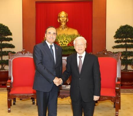越南愿与摩洛哥加强双边合作 hinh anh 1