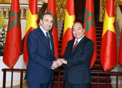 越南愿与摩洛哥加强双边合作 hinh anh 2