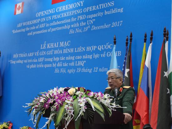 提升东盟地区论坛成员国参与联合国维和行动的能力素质 hinh anh 1
