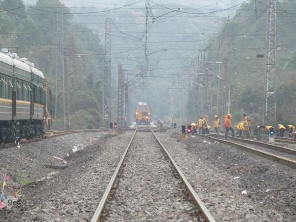 中国面向东南亚主通道广西防城港至东兴铁路开工建设 hinh anh 1