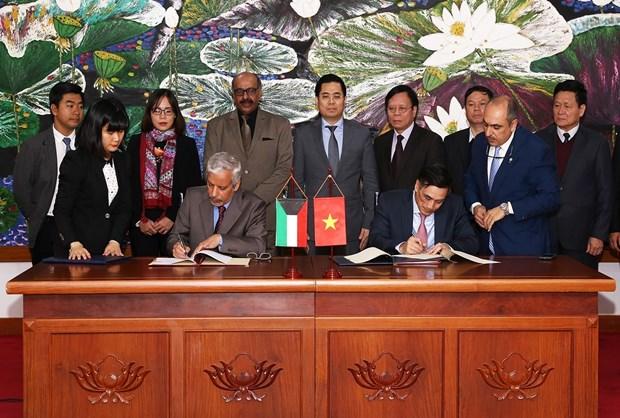 科威特基金会为越南太平省沿海基础设施建设提供900万美元贷款 hinh anh 1