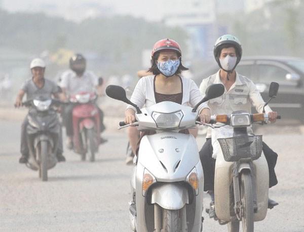 胡志明市努力控制交通运输的温室气体排放 hinh anh 1