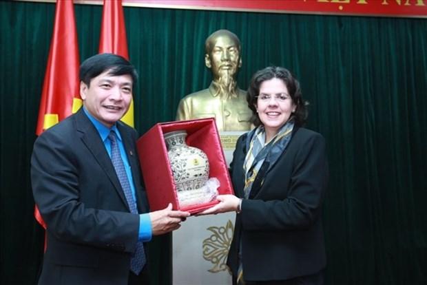 古巴新任驻越大使: 古巴将与越南劳动总联合会的关系置于优先地位 hinh anh 1