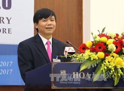 越南副外长邓廷贵:年轻一代在促进越老关系发展中扮演着举足轻重的角色 hinh anh 1