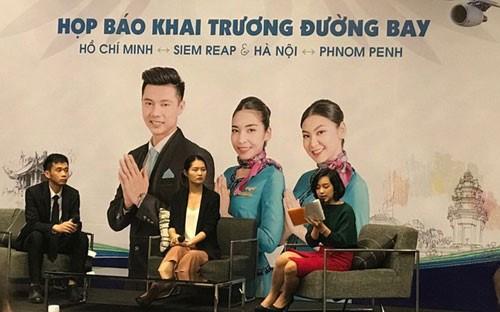柬埔寨澜湄航空正式开通金边至河内和暹粒至胡志明市直达航线 hinh anh 1