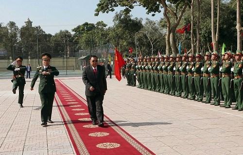 本扬•沃拉吉同志造访越南人民军队第四军区 hinh anh 1