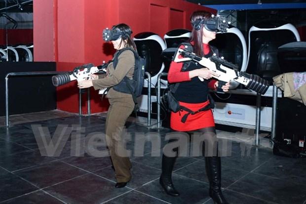 虚拟现实体验馆亮相越南 hinh anh 1