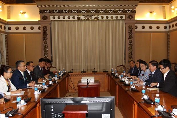 胡志明市与戴尔科技集团加强合作 hinh anh 2