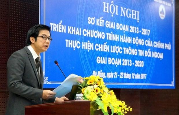 有效开展越南政府关于对外信息发展战略的行动计划 hinh anh 1