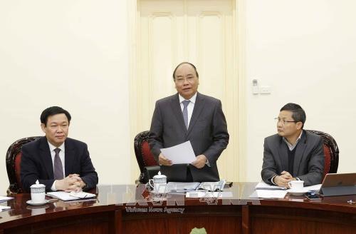 阮春福总理:经济咨询小组要当好政府的参谋与助手 hinh anh 1