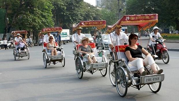 赴越旅游的外国游客量继续猛增 hinh anh 1