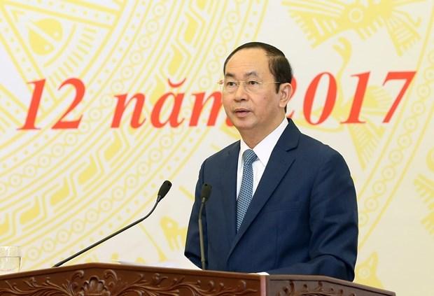 国家主席陈大光:避免越级投诉、拖延解决和使问题复杂化 hinh anh 2
